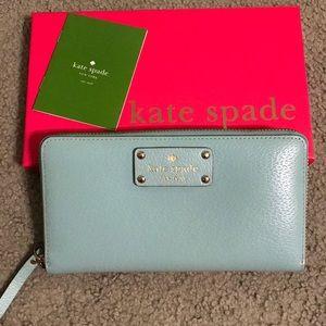 Kate Spade Wellesley Neda Wallet in Fresh Air